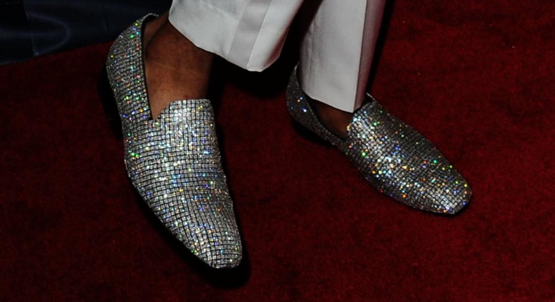 Nick Cannon's Diamond-Covered Tom Fords