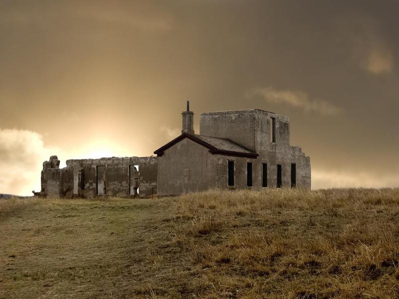 Sunrise Over Fort Laramie Hospital Ruins