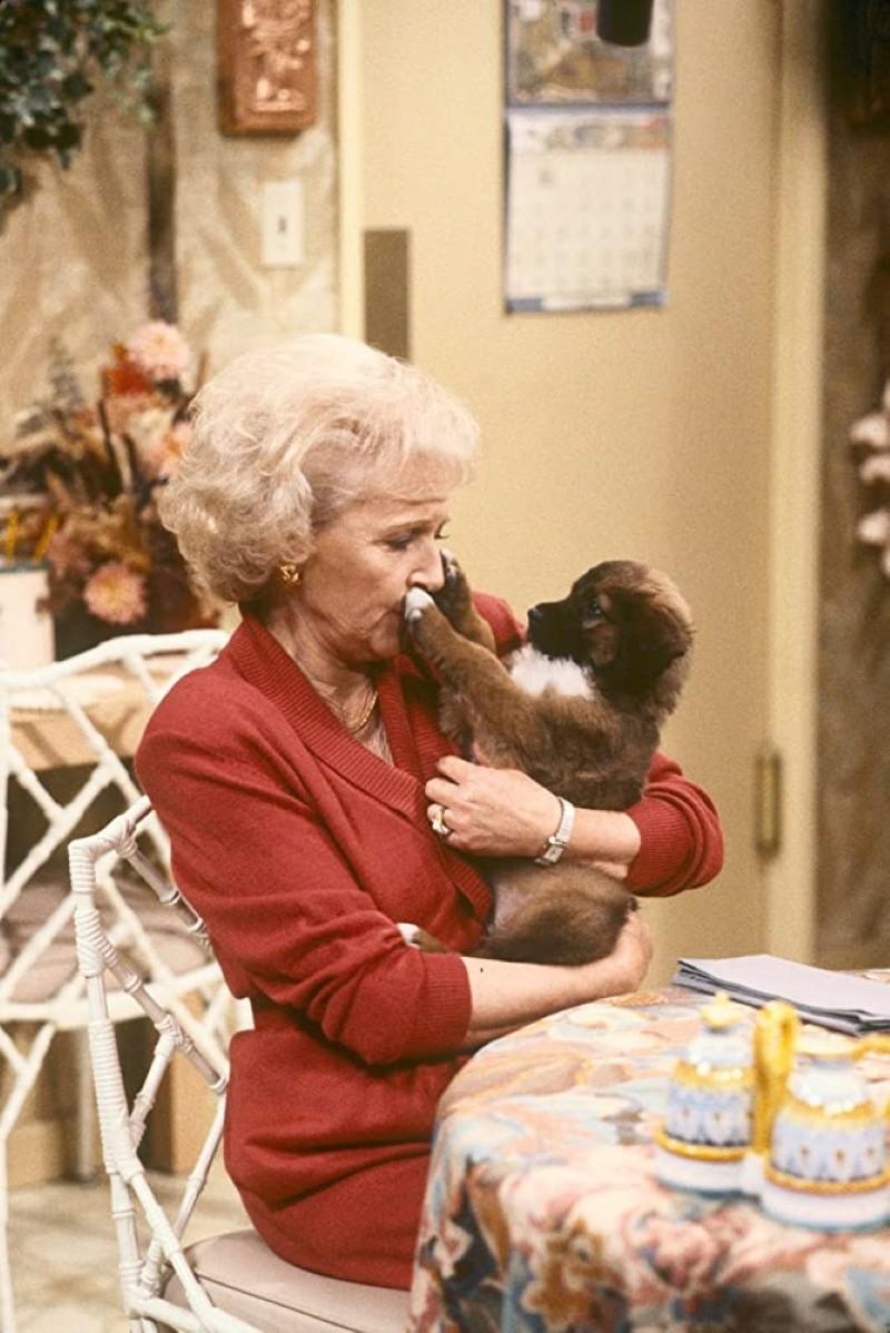 Betty White in The Golden Girls
