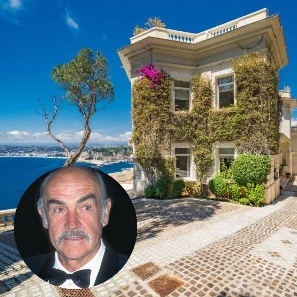 Inside Sean Connery's $35 Million French Riviera Estate