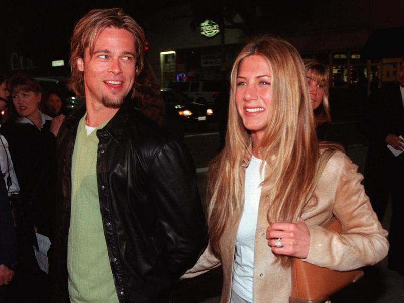 Brad Pitt & Jennifer Anniston