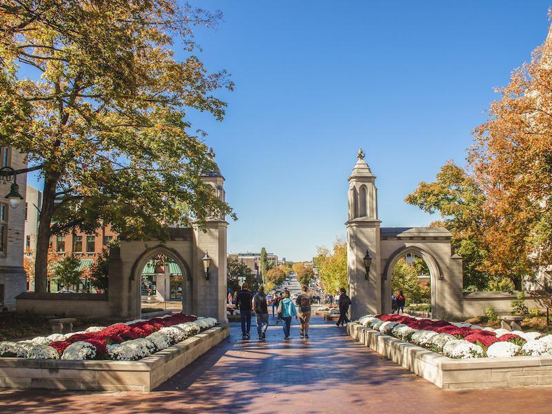 Indiana University in Bloomington