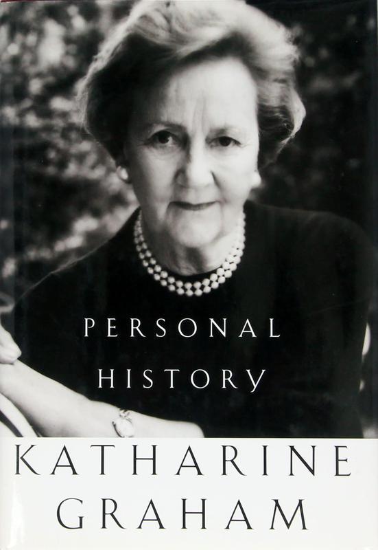 """Personal History"" by Katharine Graham"