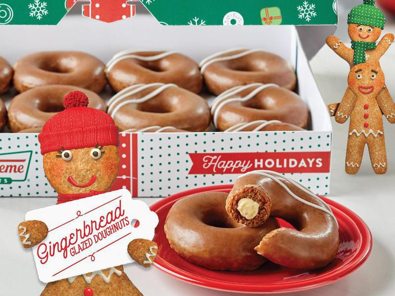 Gingerbread Filled Donuts