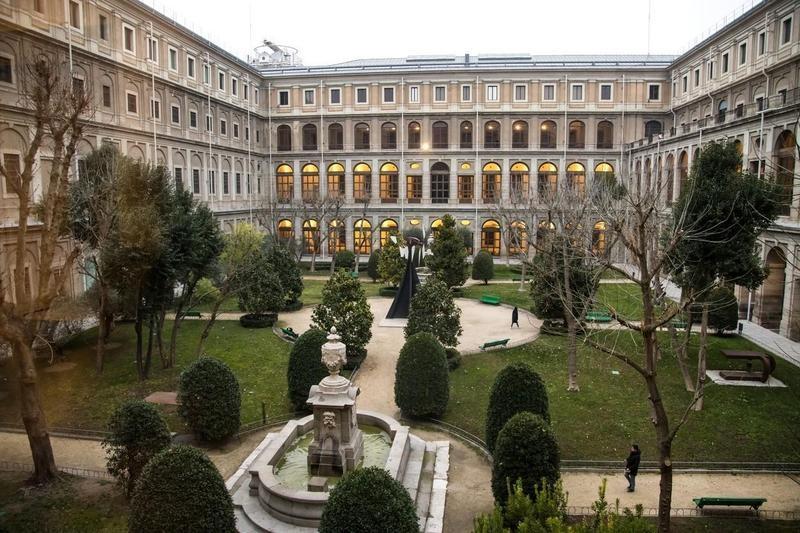 Inner Court of Reina Sofia Museum
