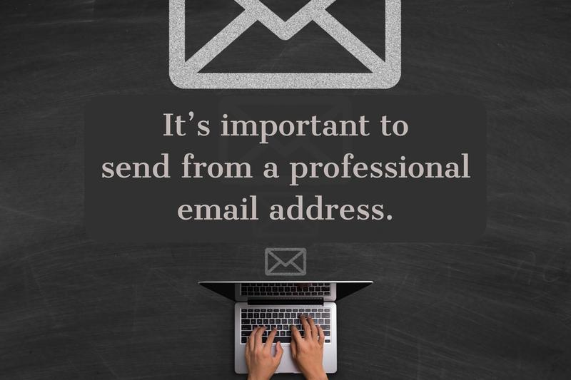 cold email professional address