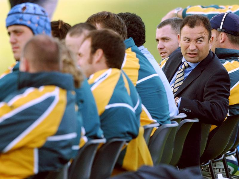 Australian coach Eddie Jones