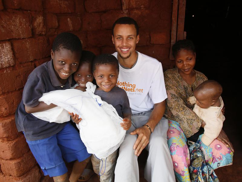 Steph Curry in Tanzania