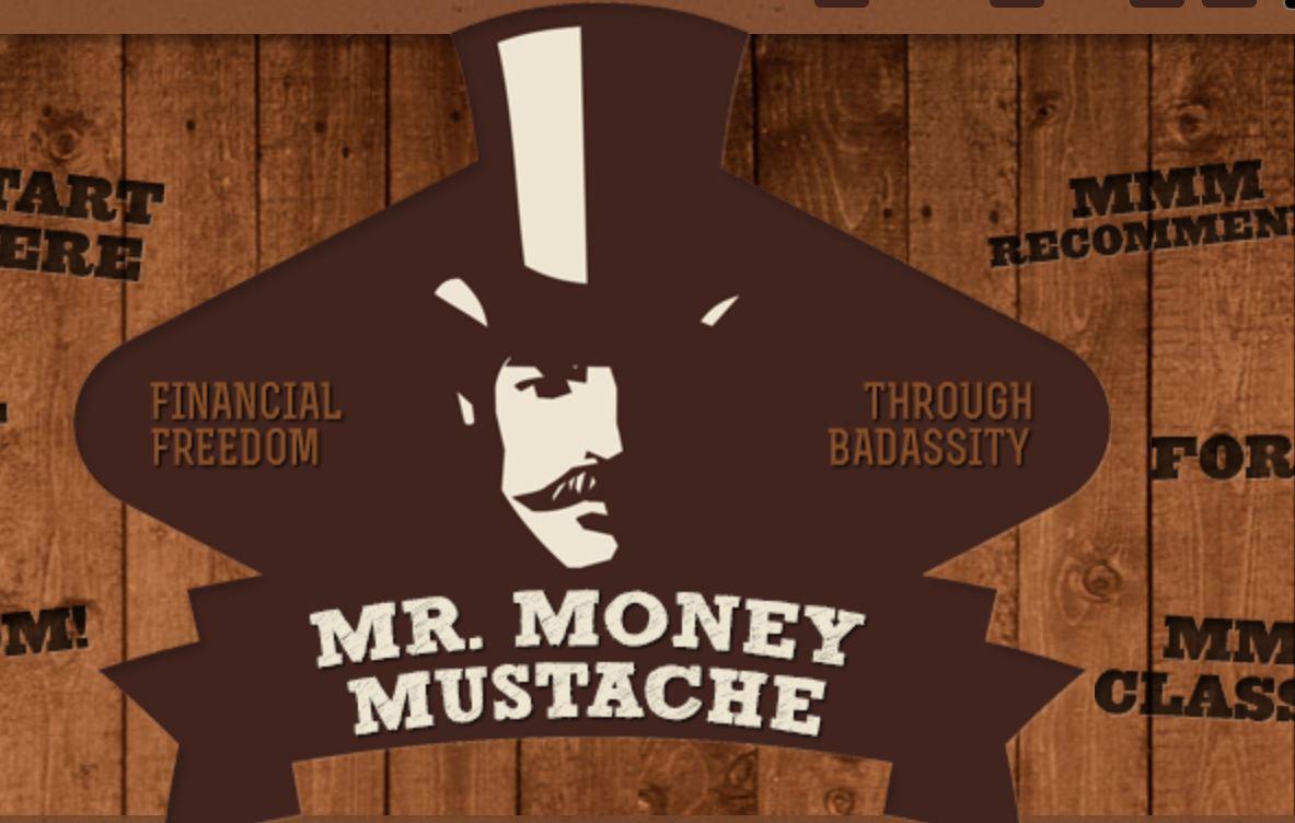Mr. Money Mustache logo