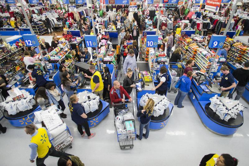 holiday shopping walmart