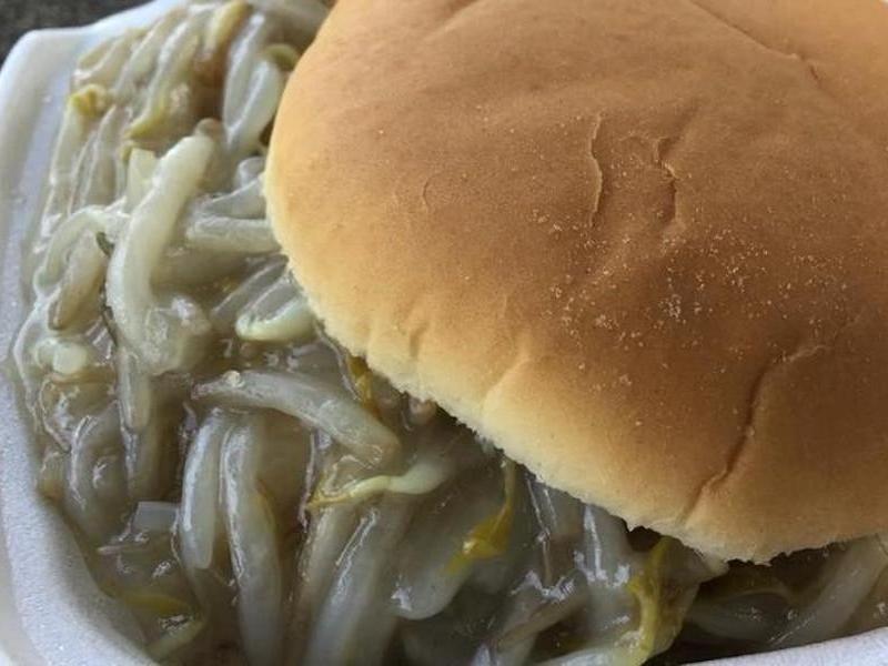 Chop Suey Sandwich