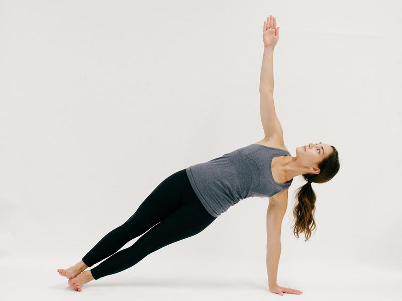 Side Plank - 10 Minutes of Yoga to Jumpstart Your Work Day