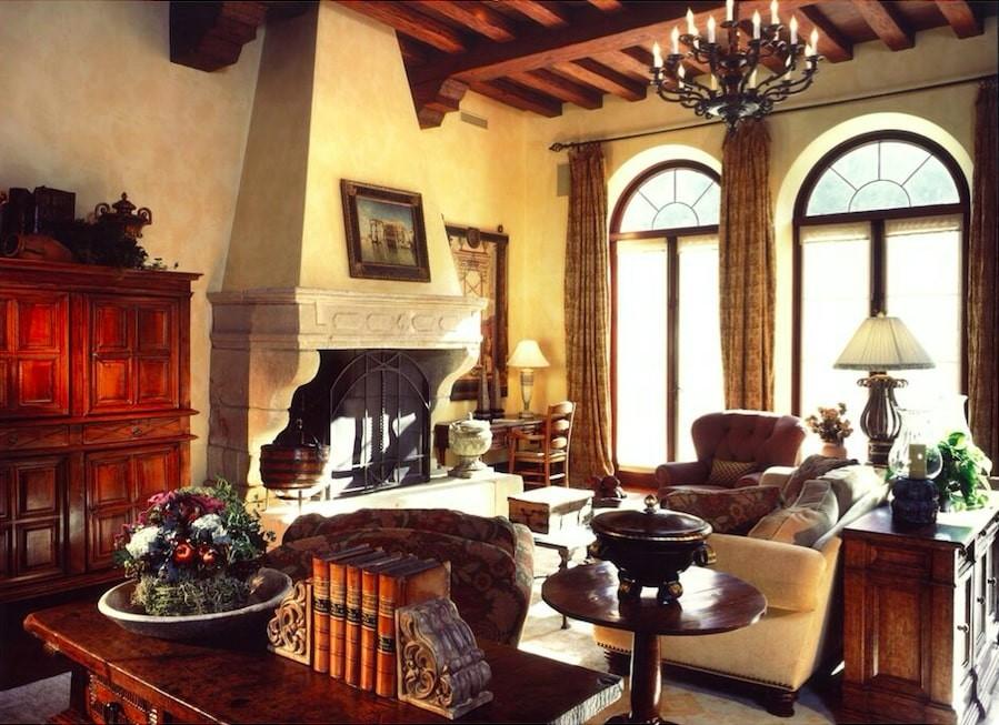 Villa Firenze living area