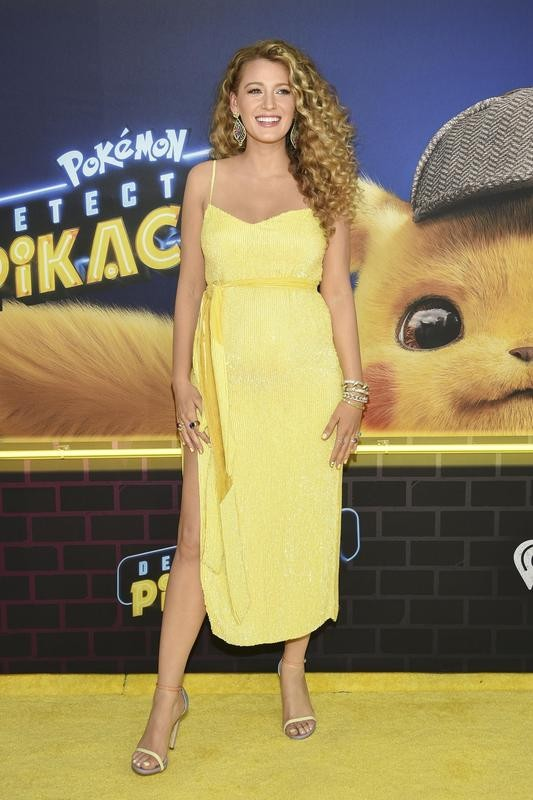 """Blake Lively style at premiere of """"Pokemon Detective Pikachu"""""""
