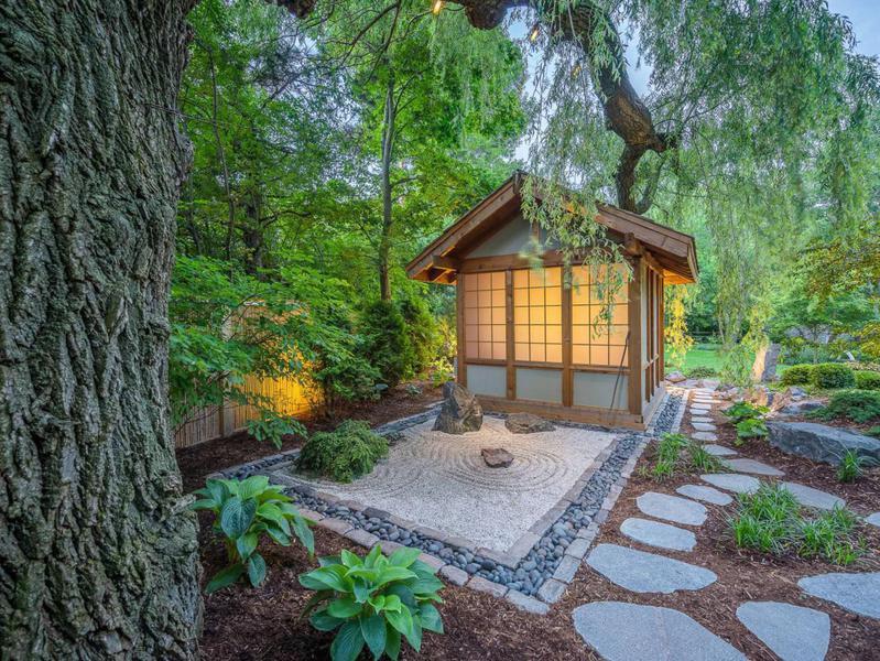 Japanese garden in Wisconsin