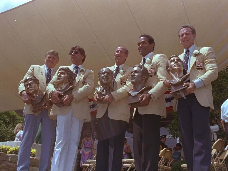 Pro Football Hall of Fame 1985 induction ceremony