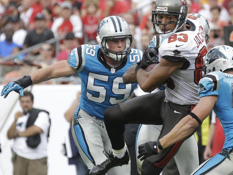 Carolina Panthers linebacker Luke Kuechly