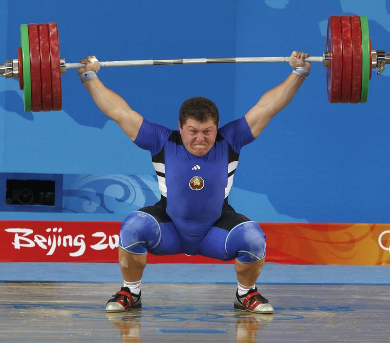 Andrei Aramnau lifts