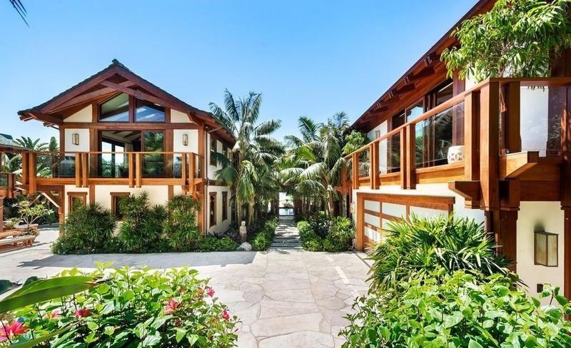 Pierce Brosnan's home in Malibu
