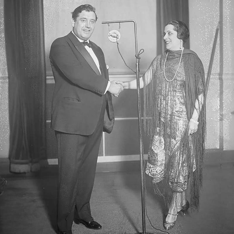 Lucrezia Bori in Fringe with John McCormack