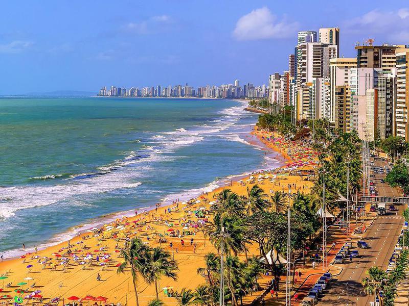 Pernamcubo Beach in Recife, Brazil