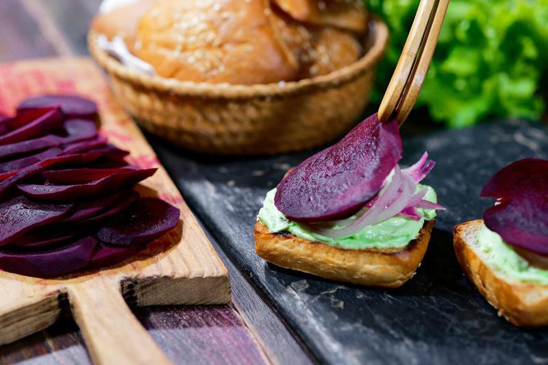Burger Topping Ideas: Beetroot