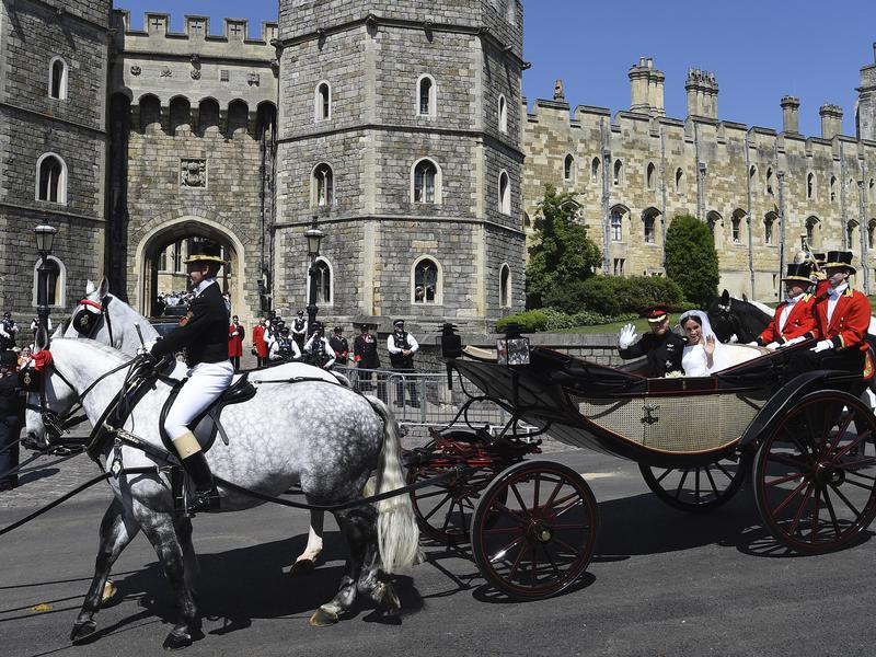 Meghan Markle Wedding Windsor Castle