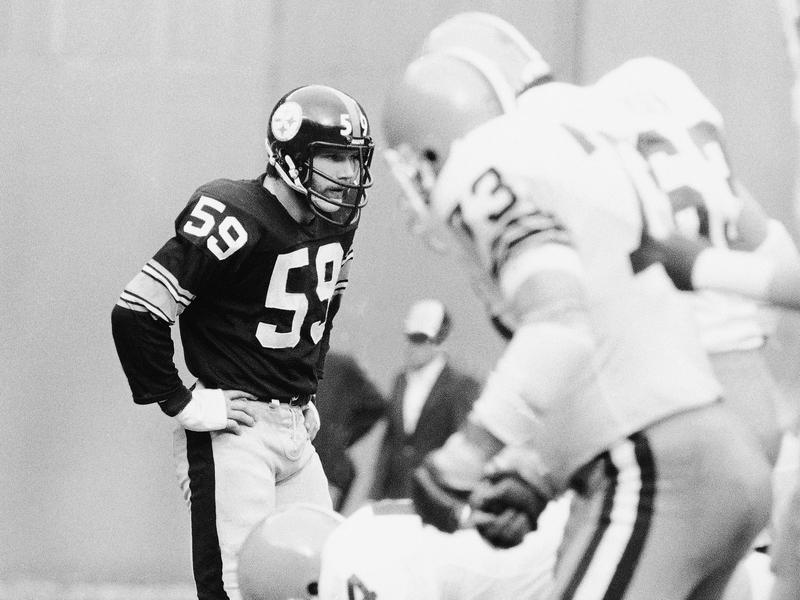 Pittsburgh Steelers linebacker Jack Ham