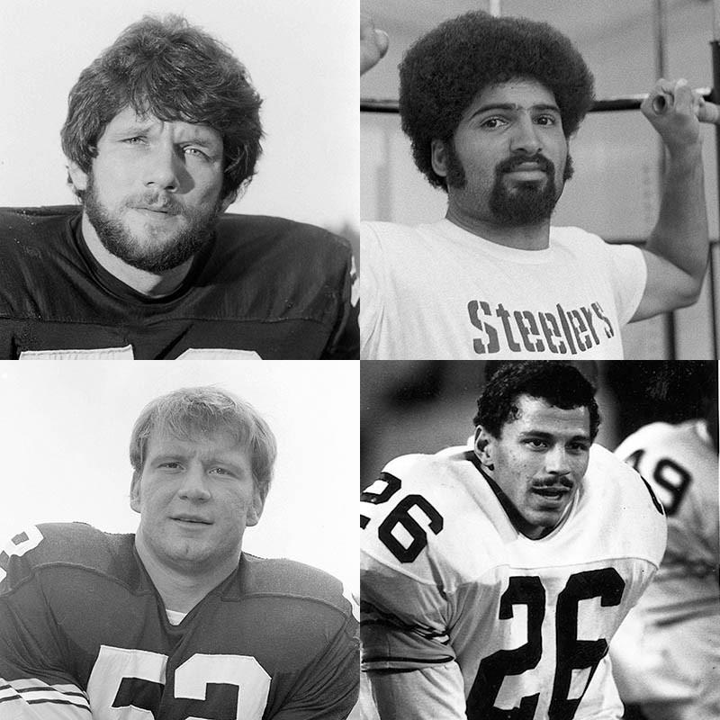 Jack Ham, Franco Harris, Rod Woodson, Mike Webster