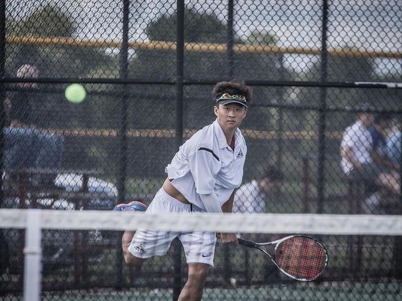 Dexter tennis player