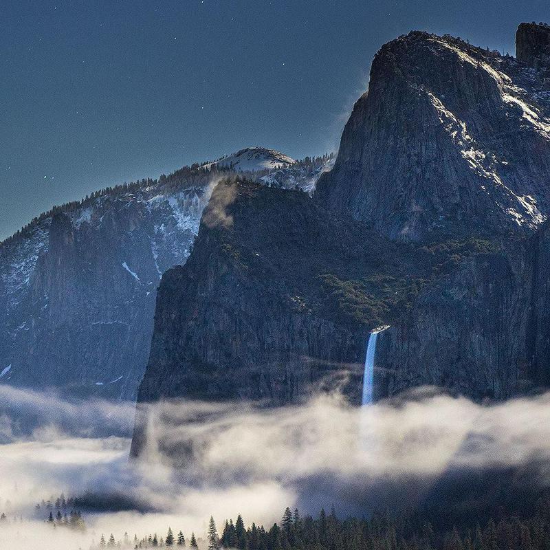 Waterfall at Yosemite National Park
