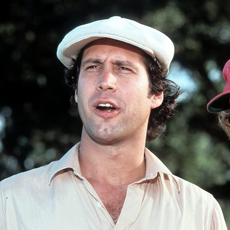 Chevy Chase in Caddyshack