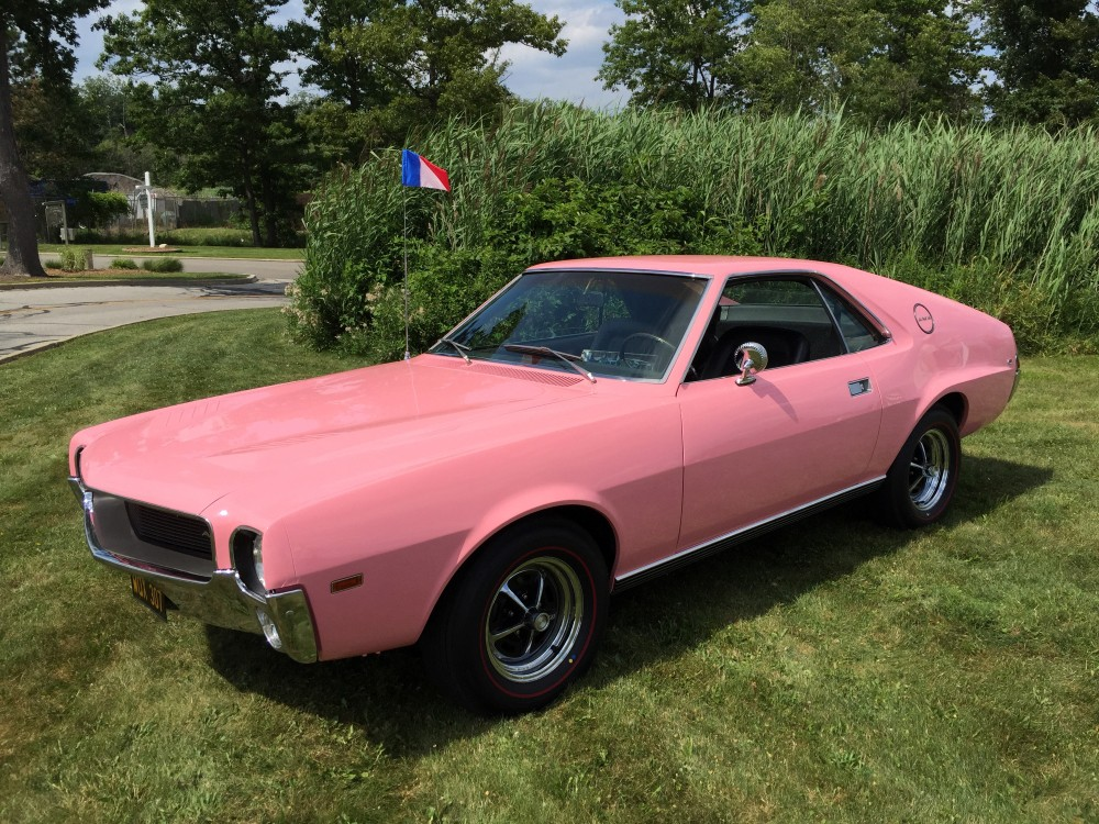 Pink 1968 AMC AMX
