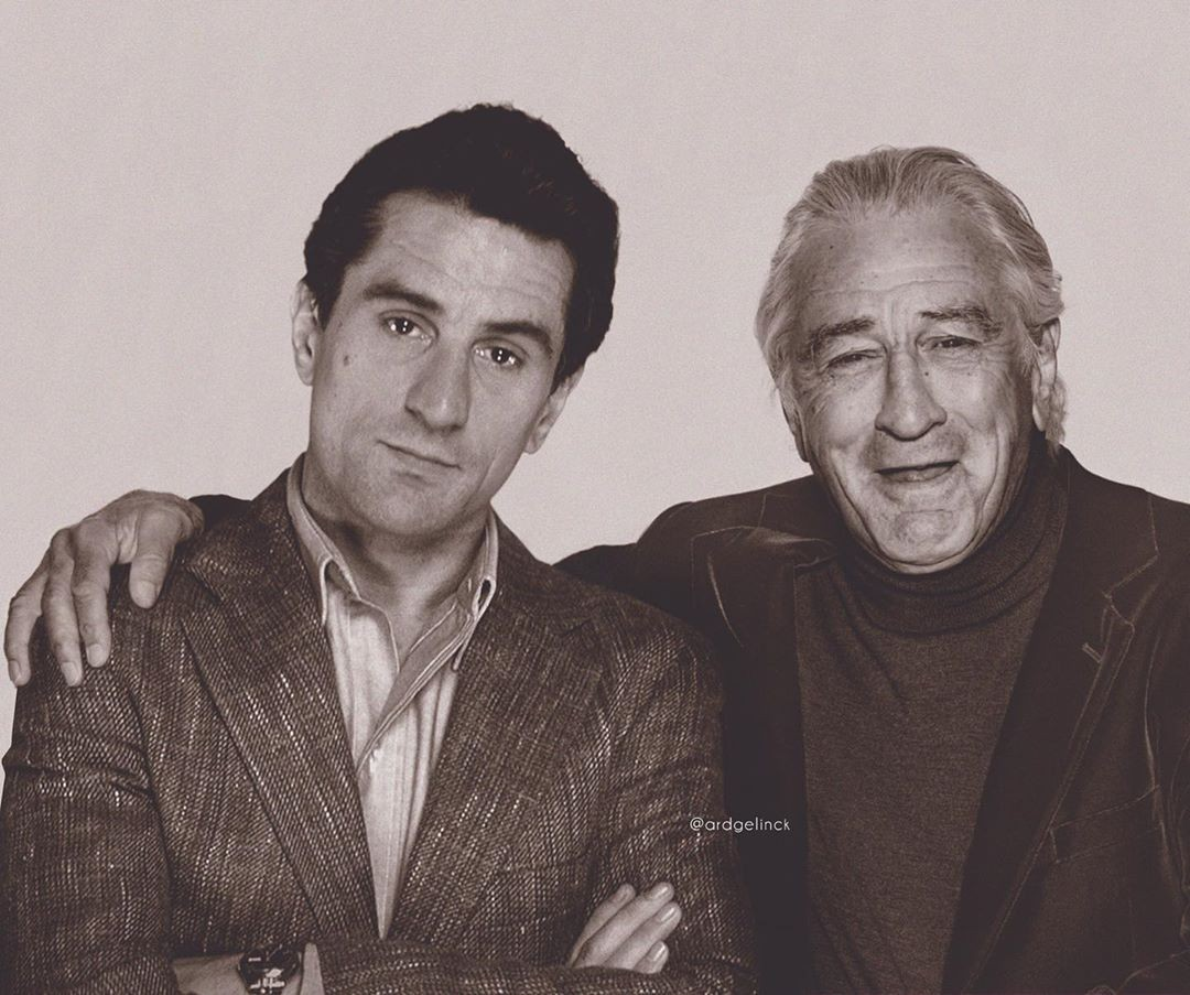 Robert De Niro and Jimmy Conway