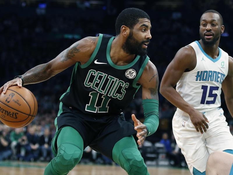 Kyrie Irving and Kemba Walker