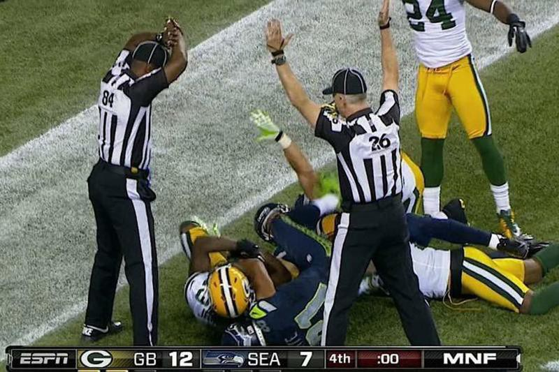 Seattle Seahawks and Green Bay Packers