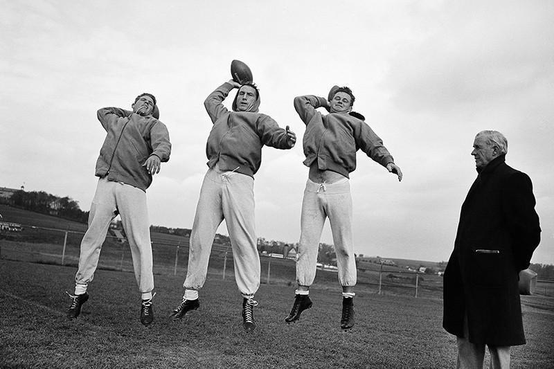 Bobby Thomason, Bob Waterfield, Norm Van Brocklin