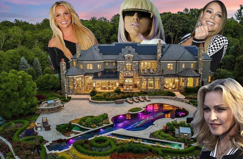 Pop star home