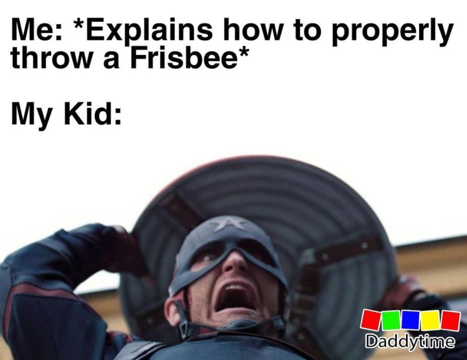 Frisbee meme