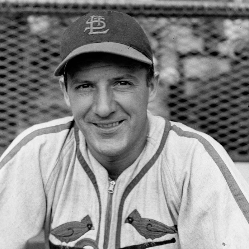 1947 portrait of St. Louis Cardinals outfielder Joseph Medwick