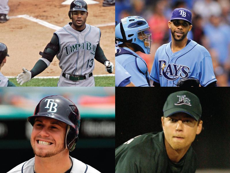 Tampa Bay Devil Rays/Rays Mount Rushmore