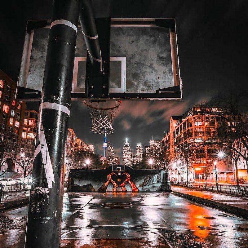 David Crombie Park Basketball Court