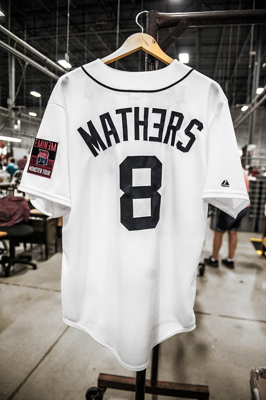 Eminem Tigers jersey