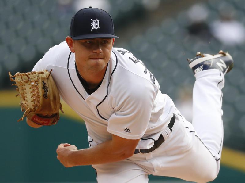 Detroit Tigers pitcher Tyler Alexander