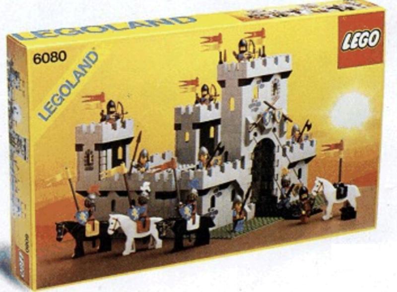 King's Castle lego set