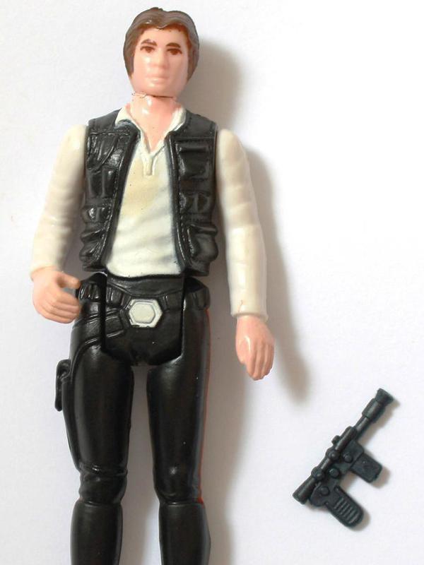 """Han Solo """"Small Head"""" figure"""