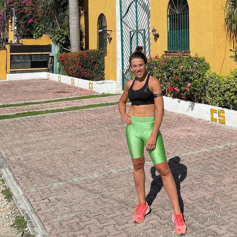 Joanna Jedrzejczyk on vacation in Mexico