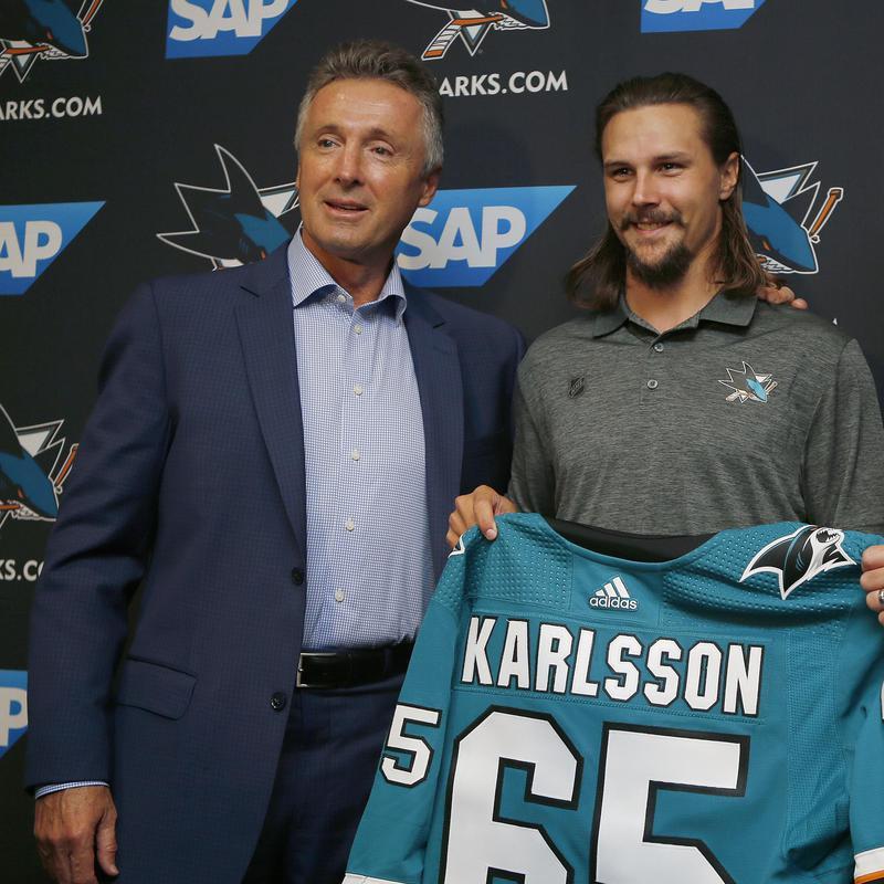 Doug Wilson and Erik Karlsson