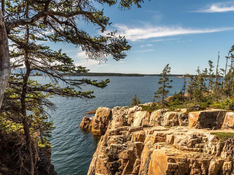Schoodic Peninsula in Maine