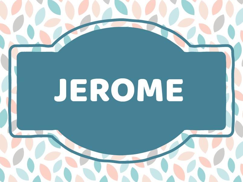 Unique Baby Names: Jerome